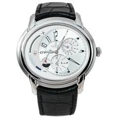 Audemars Piguet Silver White Stainless Steel Millenary Men's Wristwatch 47 mm
