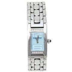 Audemars Piguet Stainless Steel Diamond Promesse  Women's Wristwatch 36 mm x 20