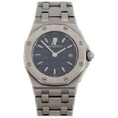 Audemars Piguet Stainless Steel  Ladies Royal Oak Offshore Quartz Wristwatch