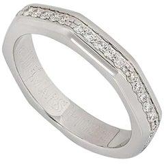 Audemars Piguet White Gold Diamond Royal Oak Band Ring