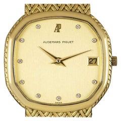 Audemars Piguet Women's Yellow Gold Diamond Dial Dress Watch