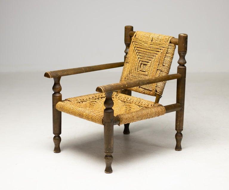 Audoux-Minet Armchair For Sale 3
