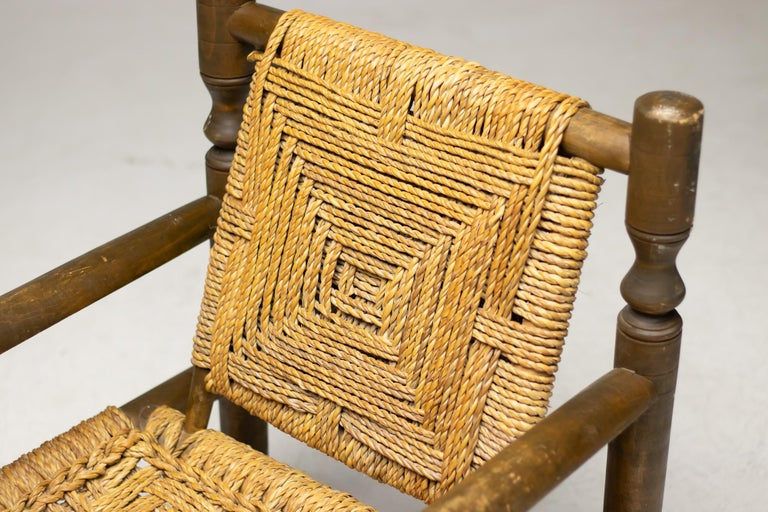 Audoux-Minet Armchair For Sale 4