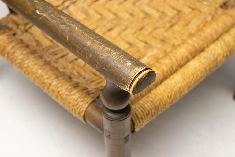 Mid-20th Century Audoux-Minet Armchair For Sale