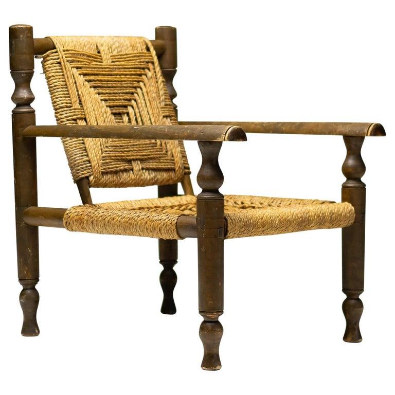Audoux-Minet Armchair For Sale