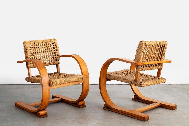 Audoux Minet Armchairs For Sale 12