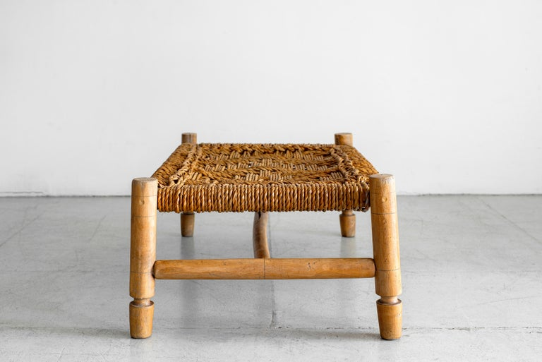 Mid-20th Century Audoux Minet Bench For Sale