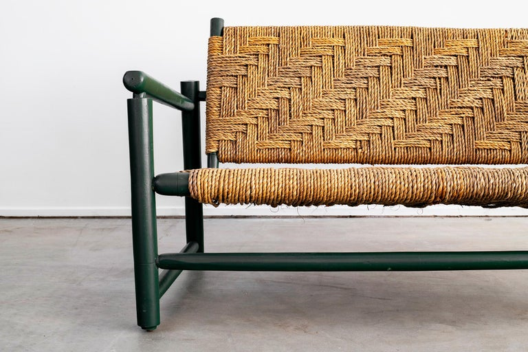 Oak Audoux Minet Bench For Sale