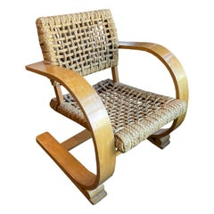 Audoux-Minet Chair, France 1940s