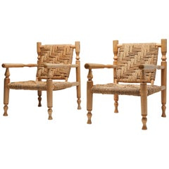 Audoux Minet Pair of Armchairs