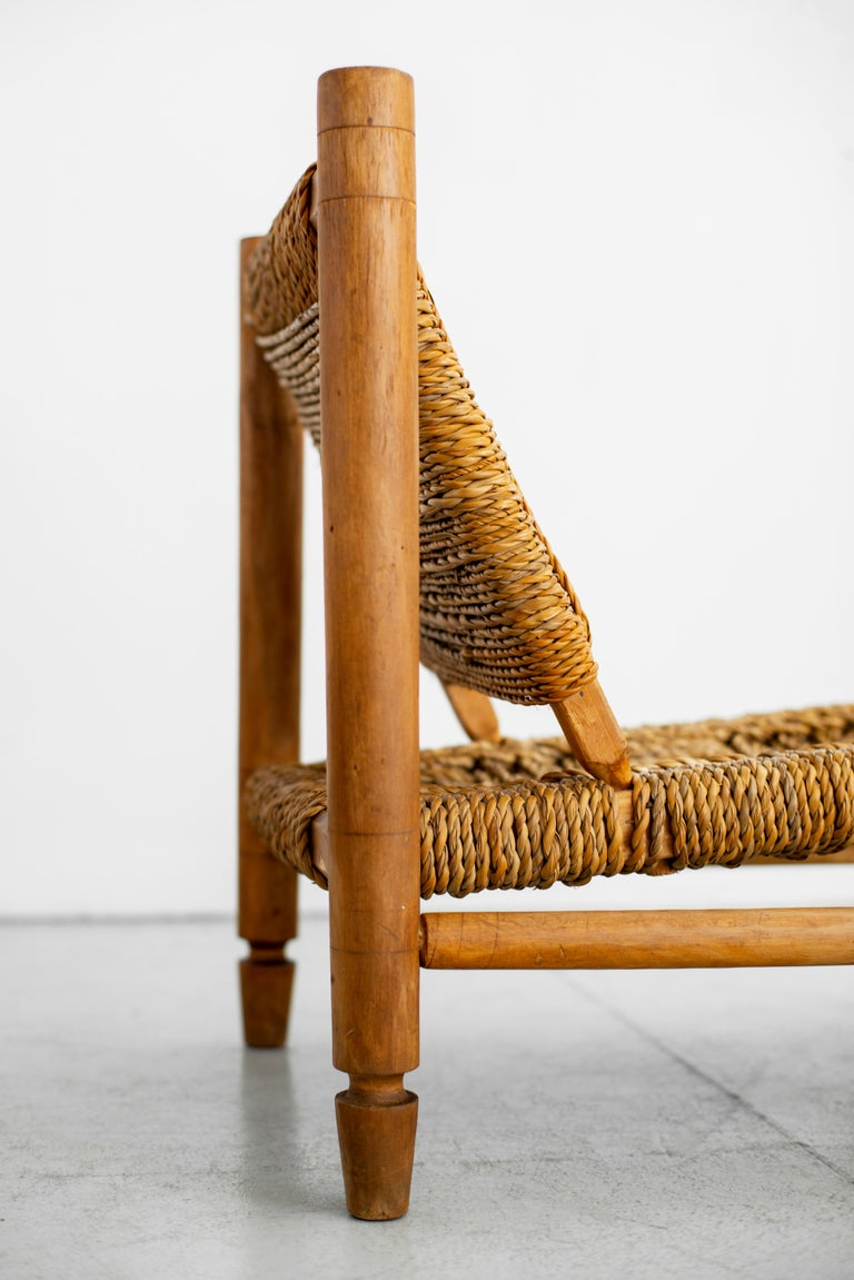 Audoux Minet Rope Chairs For Sale 6