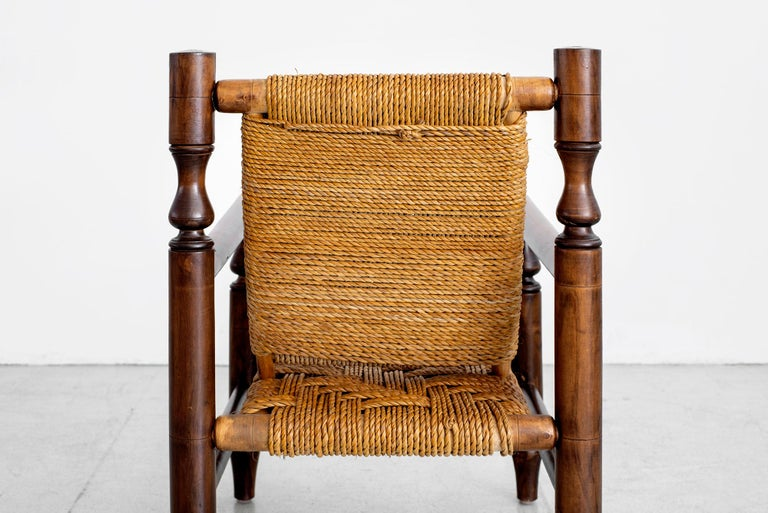 Audoux Minet Rope Chairs For Sale 8