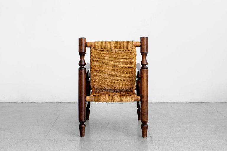 Audoux Minet Rope Chairs For Sale 2