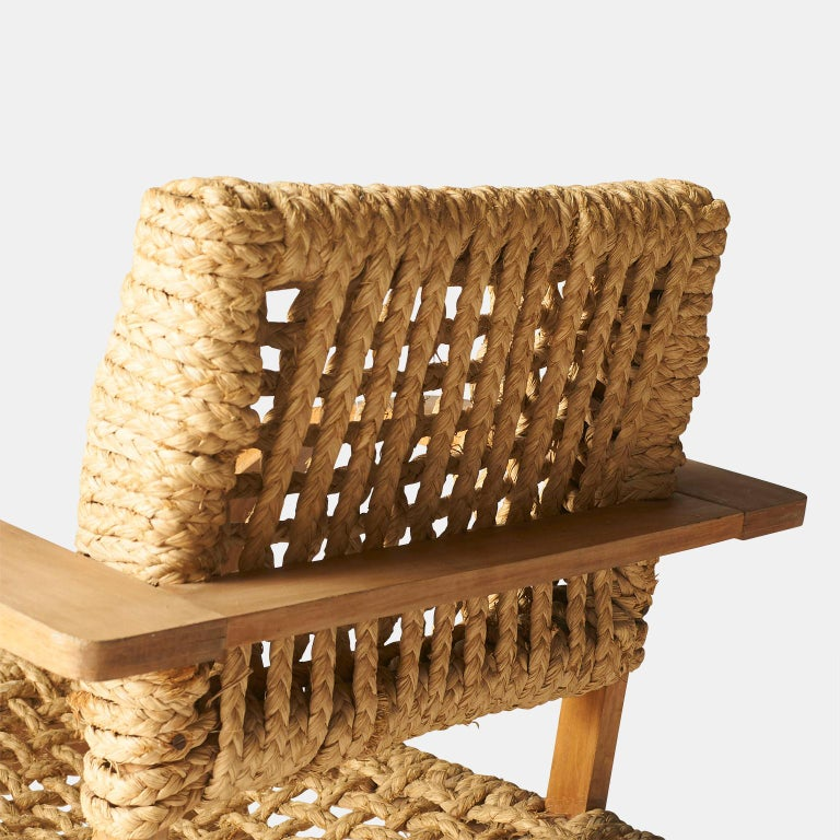 Audoux-Minet, Rope Chairs For Sale 3