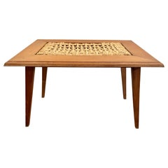Audoux Minet Ropework Coffee Table, circa 1950