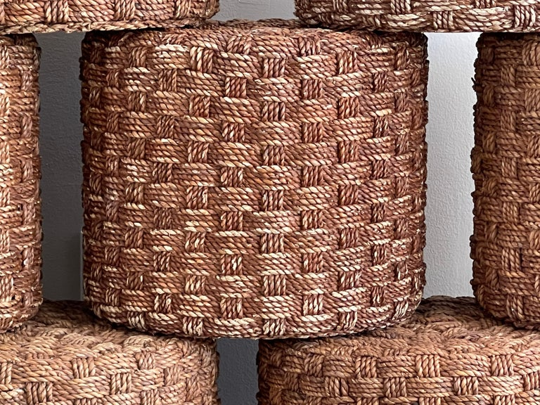 Audoux Minet Style Rope Stools For Sale 5