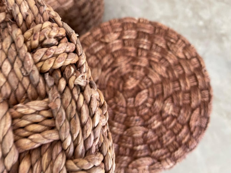 Audoux Minet Style Rope Stools For Sale 6