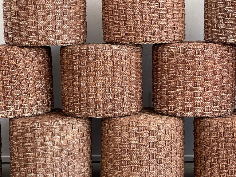 Audoux Minet Style Rope Stools For Sale 2
