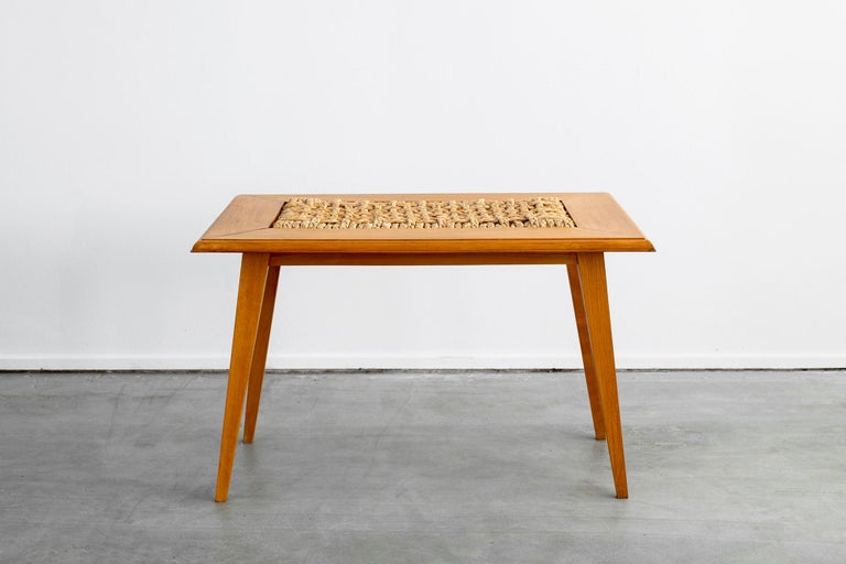 French Audoux Minet Table For Sale