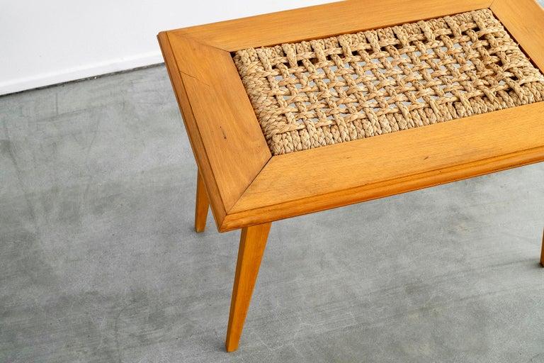 Mid-20th Century Audoux Minet Table For Sale