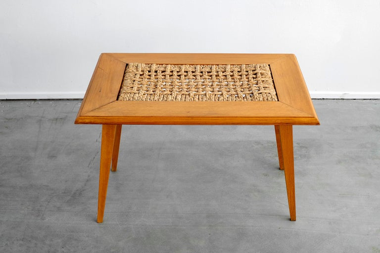 Rope Audoux Minet Table For Sale