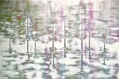 Truth Teller, Audra Weaser, 2020_Acrylic, Plaster, Metallic Pigments on Panel