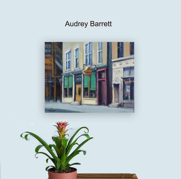FACADE WICKER PARK - Painting by Audrey Barrett