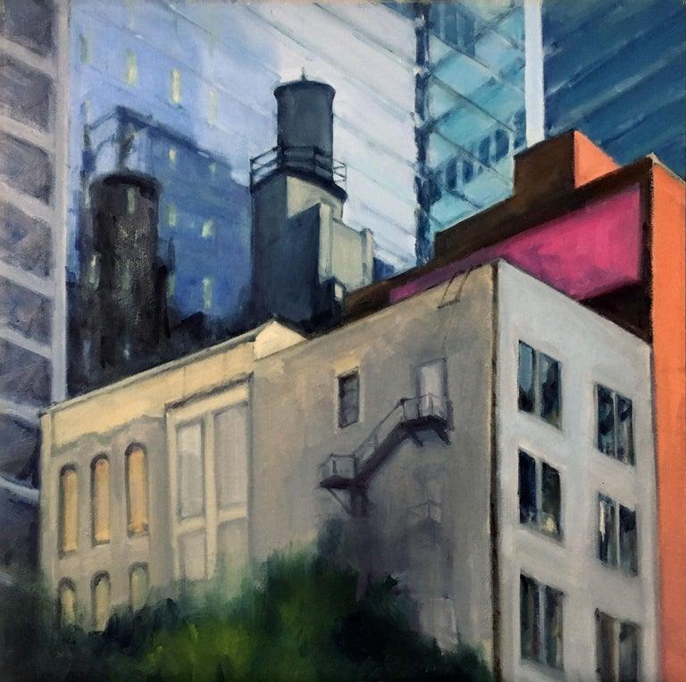 Audrey Barrett Landscape Painting - NORTH FRANKLIN NEAR RANDOLPH