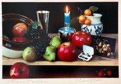 Pop Art Vintage Color Photograph Dye Transfer Print Audrey Flack Fruits Photo