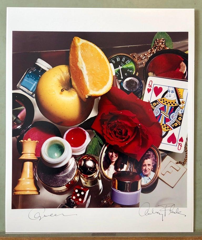 Pop Art Vintage Color Photograph Dye Transfer Print