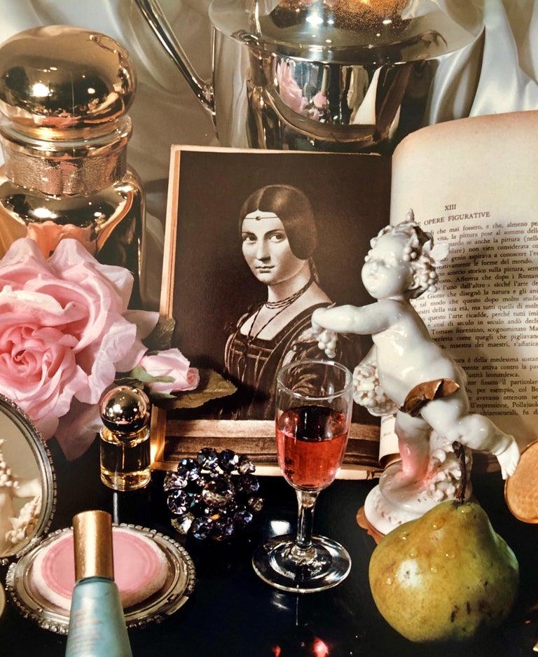 Pop Art Vintage Photograph Dye Transfer Print