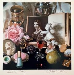 "Pop Art Vintage Photograph Dye Transfer Print ""Leonardo's Lady"" Audrey Flack"