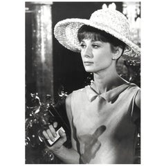 Audrey Hepburn, Original Vintage Photograph by Vincent Rossell, Paris, 1962