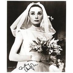 Audrey Hepburn Vintage Funny Face Signed Photograph