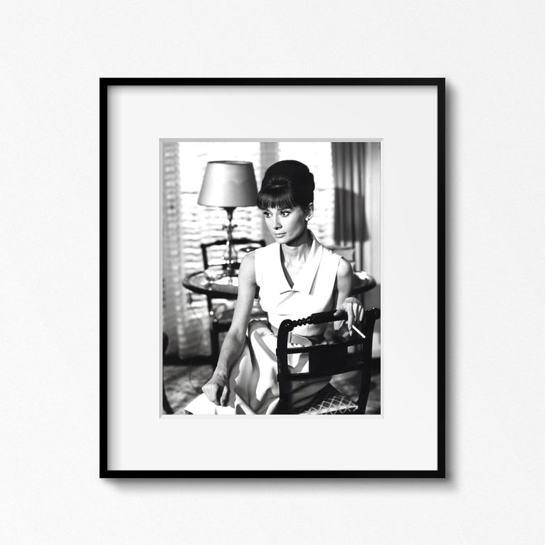 Audrey Hepburn on the set of 'Paris When it Sizzles,' Paris, 1962 by Vincent Rossell