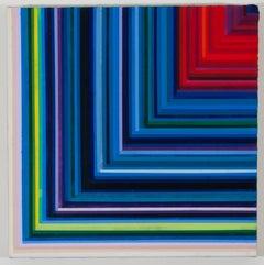 Audrey Stone, Conversation With Self, 2015, Canvas, Acrylic Paint, Pigment