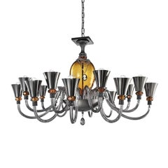 Audrey Topaz Chandelier 16 Lights