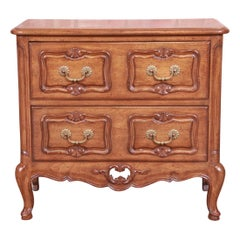 Auffray & Co. French Provincial Louis XV Carved Walnut Chest of Drawers