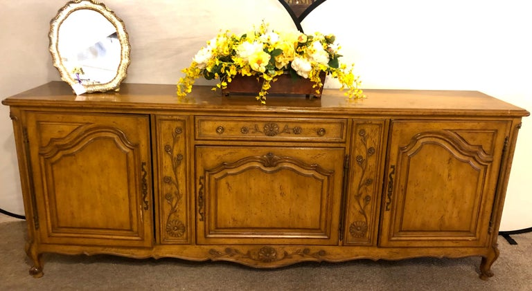 Auffray & Company, 18th Century Style Country French Sideboard / Buffet In Good Condition For Sale In Stamford, CT