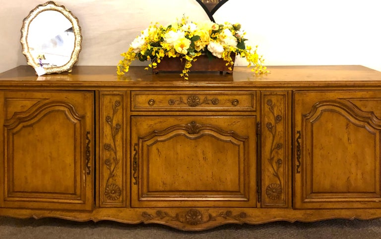 Auffray & Company, 18th Century Style Country French Sideboard / Buffet For Sale 2