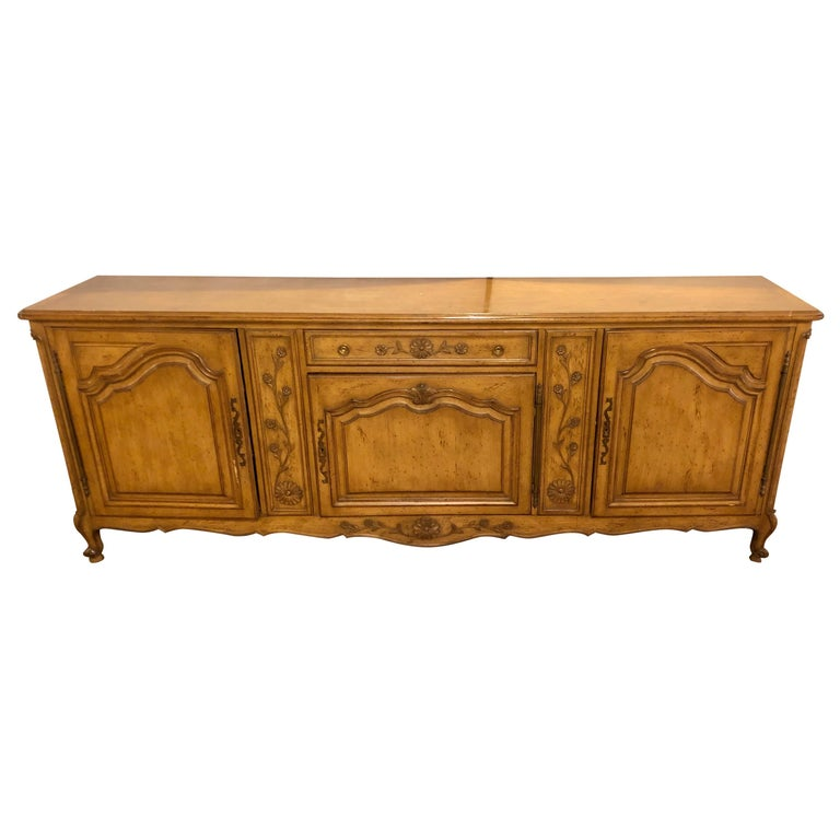 Auffray & Company, 18th Century Style Country French Sideboard / Buffet For Sale