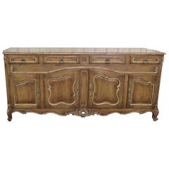 Auffray Attributed Antique Style Louis XV Country French Sideboard Buffet Server