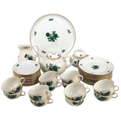 Augarten Vienna Tea Set Twelve Persons Decor Maria Theresia Form Schubert