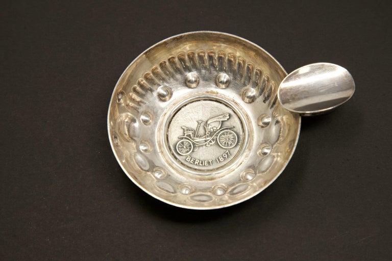 20th Century Augis-Lyon Sterling Silver Wine Taster For Sale