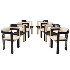 Augusto Savini Set of Eight Customizable 'Pamplona' Chairs
