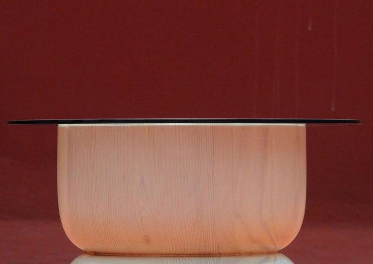 Mexican August Opening Side Table by Panorammma For Sale