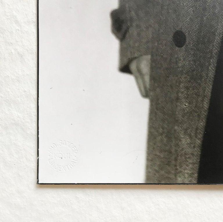 August Sander (German, 1876-1964) Portrait of Otto Dix, 1928/1986 Medium: Gelatine silver print on Agfa paper Image dimensions: 9 4/5 × 6 7/10 in (25 × 16.9 cm) Markings: August Sander's dry-stamp in the lower left hand corner: