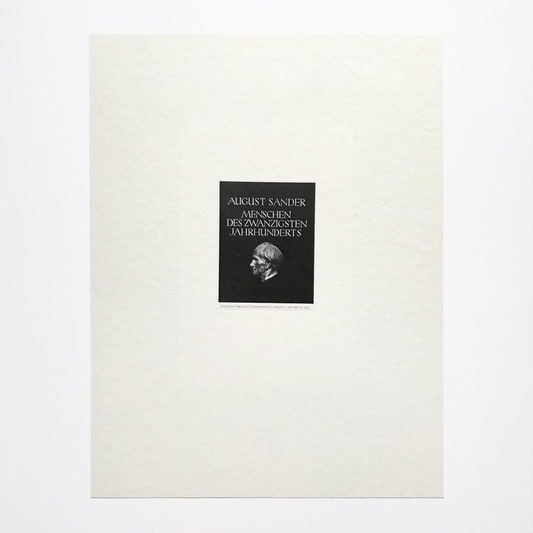 Portrait of Otto Dix, Gelatine Silver Print, Modern Art, 20th Century 1