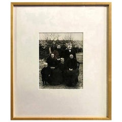 "August Sander Silver Gelatin Photographic Print ""Farming Family"""