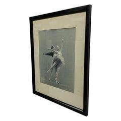 August Von Munchhausen Pastel On Paper Nutcracker Dancers Artwork